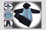 (RD06) - REEBOK JOGSUIT HOODED - R.92 - WYS.0